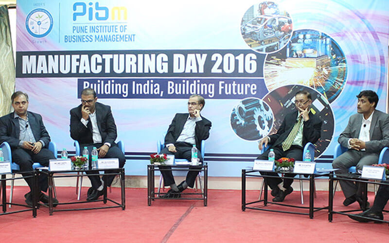 corporate event pibm pune_manufacturing day
