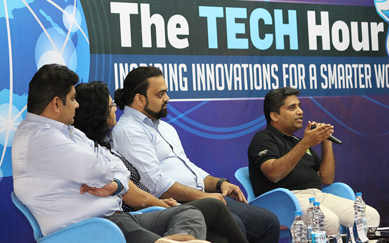 corporate event pibm pune_the tech hour